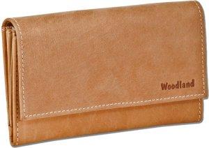 Woodland Dames Portemonnee 'Prestige' - Leer - Cognac