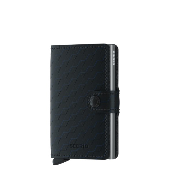 Secrid Mini Wallet Portemonnee Optical Black / Titanium
