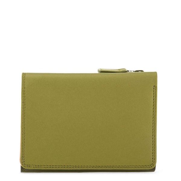 Mywalit Medium Tri-Fold Wallet Portemonnee Olive