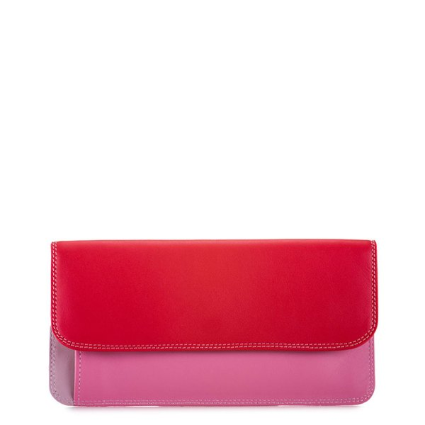 Mywalit Simple Flapover Purse/Wallet Portemonnee Ruby