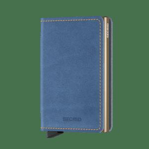Secrid Slim Wallet Portemonnee Indigo 3 / Sand
