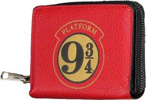 Harry Potter Hogwarts Platform 9 3/4 Portemonnee Wallet Rood