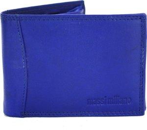 Portemonnee Heren Massi Milliano leder (PHXW350-5) -Royal-blauw -