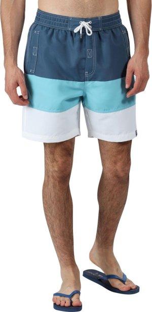 Regatta Zwembroek Bratchmar Vi Heren Polyester Blauw/wit Maat 2xl