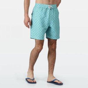 Regatta Zwembroek Hadden Ii Heren Polyester Blauw Maat L
