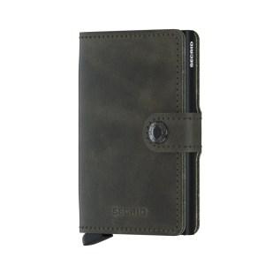 Secrid Mini Wallet Portemonnee Vintage Olive Black