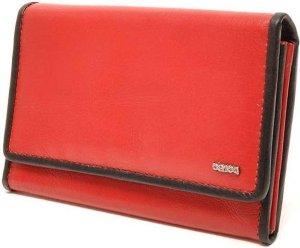 Berba Soft Damesportemonnee 001-303 Rood / Zwart Zwart