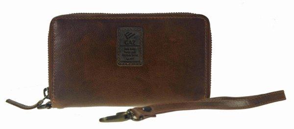Castillo GAZ RFID dames portemonnee leer bruin