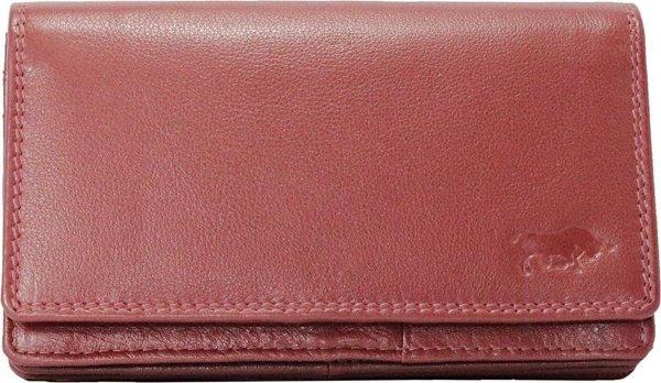 Dames Portemonnee Donkerrood Leer RFID ( Anti-Skim) - Ideale Dames Portemonnee Donkerrood