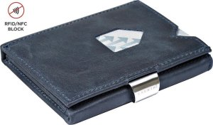 Exentri Leather Wallet Blue