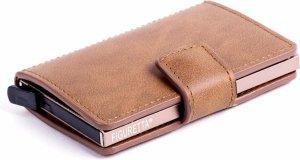 Figuretta RFID Creditcardhouder - Pu-Leer - Cognac