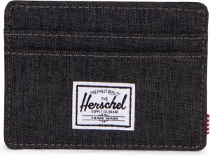 Herschel Supply Co. Charlie Portemonnee - Black Crosshatch