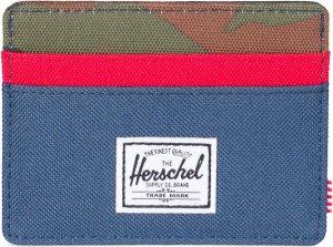Herschel Supply Co. Charlie Portemonnee - RFID - Navy Red / Woodland Camo
