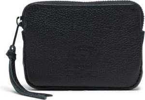 Herschel Supply Co. Oxford Portemonnee - Pouch Leather Black Pebbled Leather