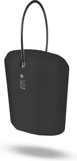 High Elites - Draagbare Reiskluis / Locker met Cijferslot voor op reis - Zwart