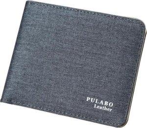 Luxe Licht Grijze Pulabo Portemonnee - Portefeuille - Heren Billfold
