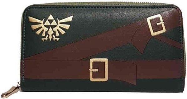 Nintendo Zelda Dames portemonnee Suit Groen