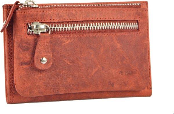 Portemonnee anti- skim - Portemonnee buffelleer - Portemonnee met 10 pasjes - Kleine portemonnee - portemonnee compact