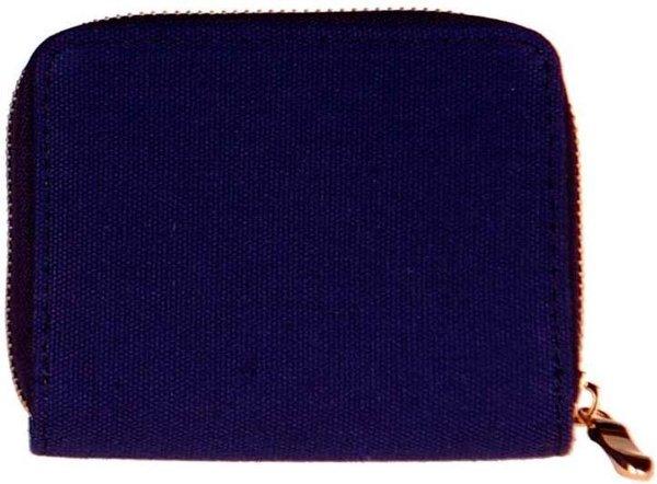 Portemonnee stof blauw-