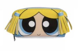 Powerpuff Girls - Bubbles dames portemonnee met rits multicolours