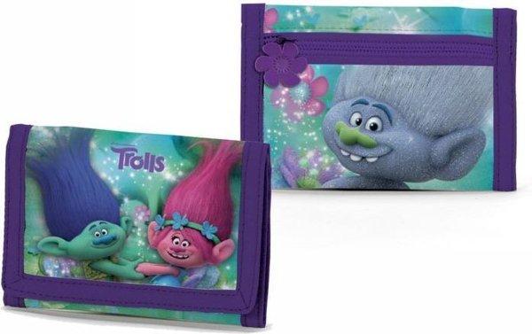 Trolls - Portemonnee - 8 cm hoog