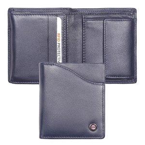Zoom Wallet Billfold RFID Blauw