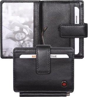 Zoom Wallet RFID met Moneyclip Zwart