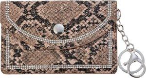 Juleeze Sleuteletui JZKW0023CH 9*13 cm - Bruin Kunstleer Sleutelhanger Portemonneetje