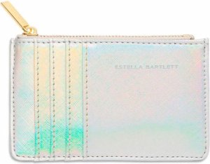 Estella Bartlett Pasjes portemonnees Card Purse Zilverkleurig