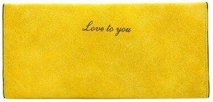Fashionvibe.nl® | Lovely Wallet Yellow