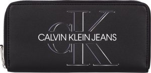 Calvin Klein - Zip around glow - dames - black