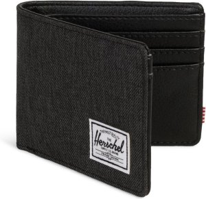 Herschel Supply Co. Hank Portemonnee - Black Crosshatch