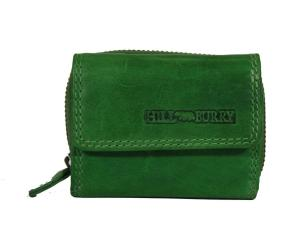 Mini Portemonnee Leer Green