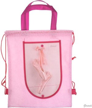 Roze Ballet Tasje - Rugzakje met Spitzen - Opvouwbare Portemonnee - Meisjes - Versie E