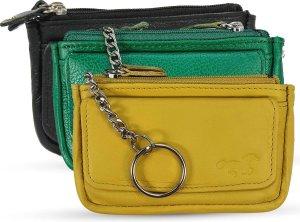 Safekeepers Sleuteletu - Sleuteltasje 3 pak: zwart, groen en geel