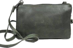 Uma portemonnee tasje dark grey