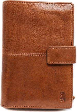 Bear Design Tara Leren RFID Dames Ritsportemonnee - Cognac