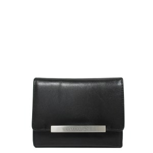 Claudio Ferrici Tri-Fold Portemonnee Black