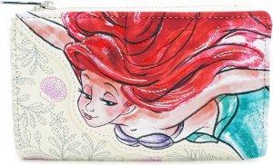 Disney Loungefly Portemonnee Ariel, the Little Mermaid 16,5 cm