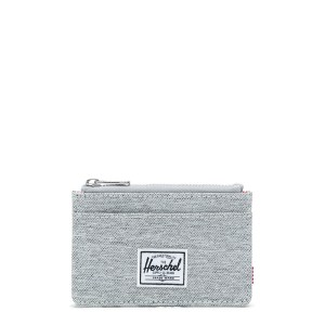 Herschel Oscar Portemonnee RFID Light Grey Crosshatch