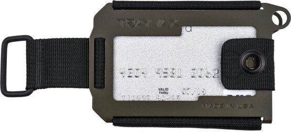 Trayvax Axis OD Green Cerakote - Pasjeshouder Creditcardhouder Metaal RFID