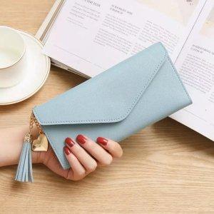 Xslim Dames Portemonnee - Portefeuille - Lichtblauw