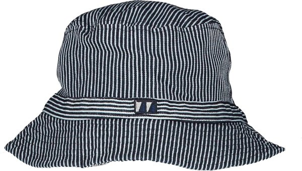Seven-One-Seven Jongens accessoires Seven-One-Seven Bertie buckethat Dream blue 1