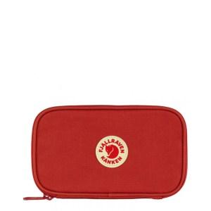 Fjällräven Kanken Travel Wallet True Red