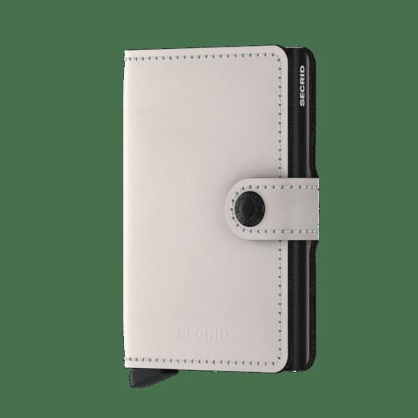 Secrid Mini Wallet Portemonnee Matte Chalk