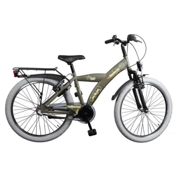 Bike Fun Camouflage 20 Inch 33 cm Jongens 3V V-Brake Leger Groen