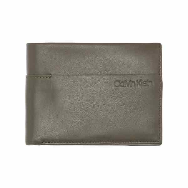 Calvin Klein - Sliver - 5cc Coin - Heren Portemonnee - Camouflage