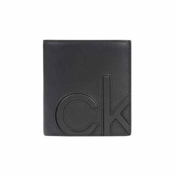 Calvin Klein - Trifold 6cc W/coin - Portemonnee Heren - Black
