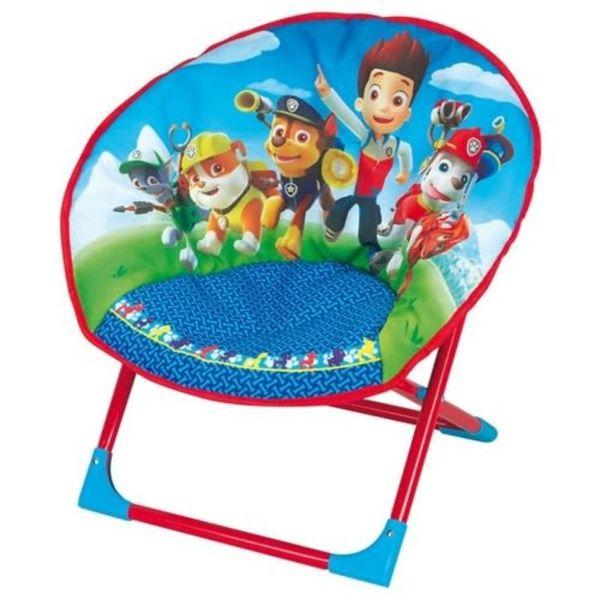 Nickelodeon Paw Patrol stoel jongens blauw/rood 52 x 46 x 45 cm