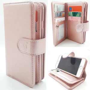 Samsung Note 8 - Rose Gold - Pasjeshouder - Telefoonhoesje met extra